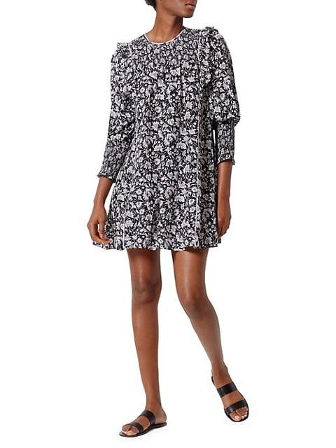 Jamila Floral Print Shift Dress