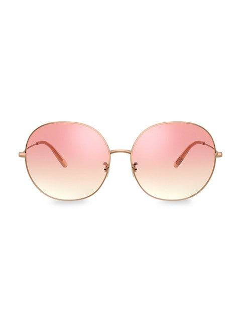 Darlen 64MM Oversized Round Sunglasses