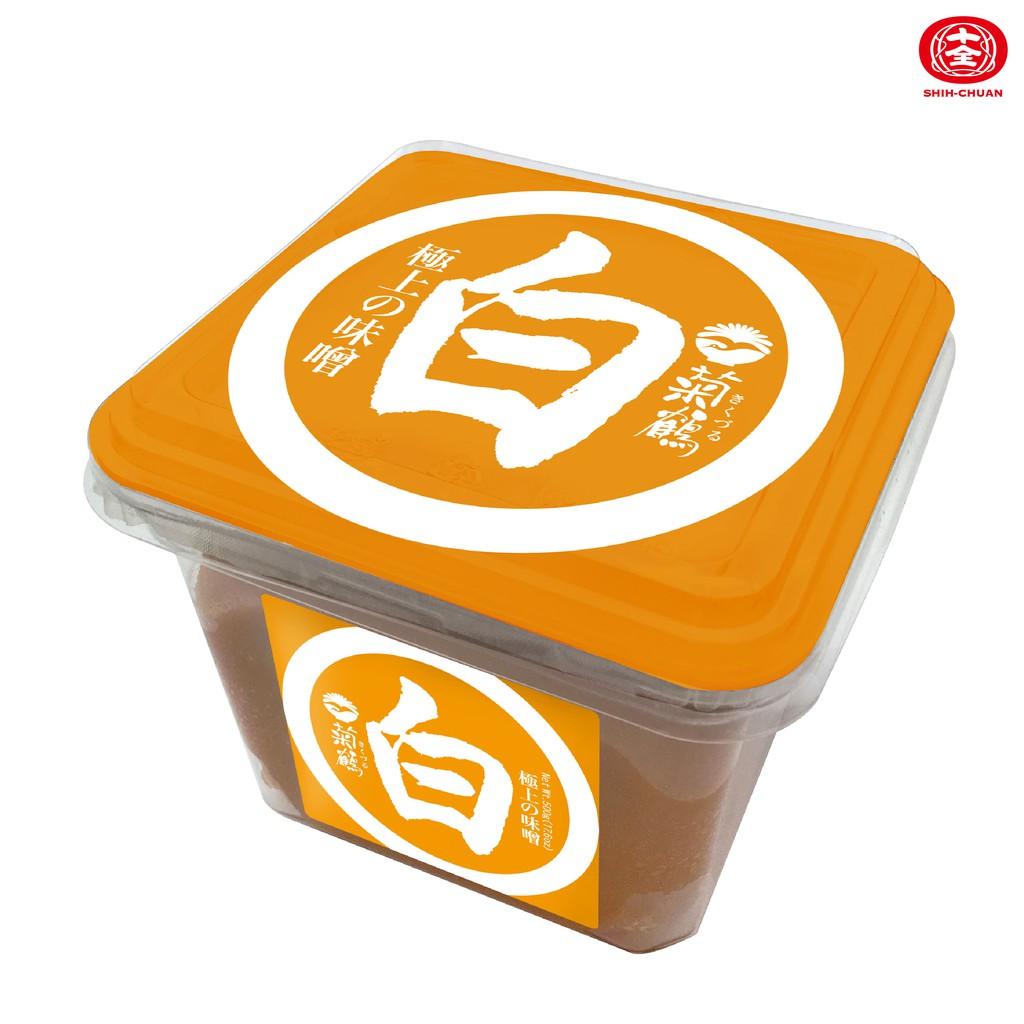 菊鶴 白味噌500g(盒裝)