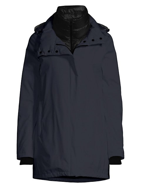 Goretex Two-Ply A-Line Waterproof Windbreaker