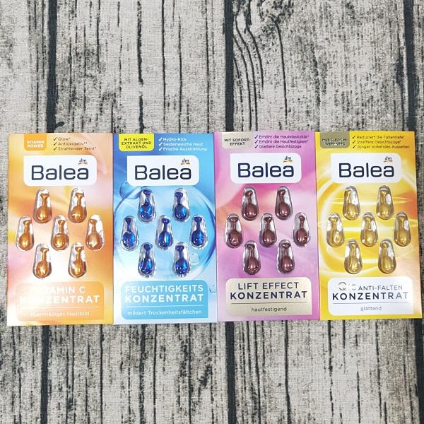 德國原裝進口 BALEA 芭樂雅 精華液 保養精華膠囊 時空膠囊 護膚 保濕 抗皺