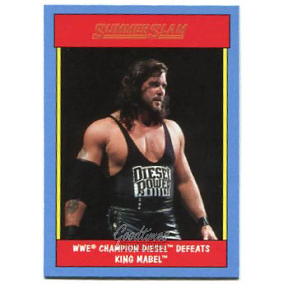 Topps HERITAGE WWE 美式 職業摔角 SUMMER SLAM 特卡 DIESEL #15