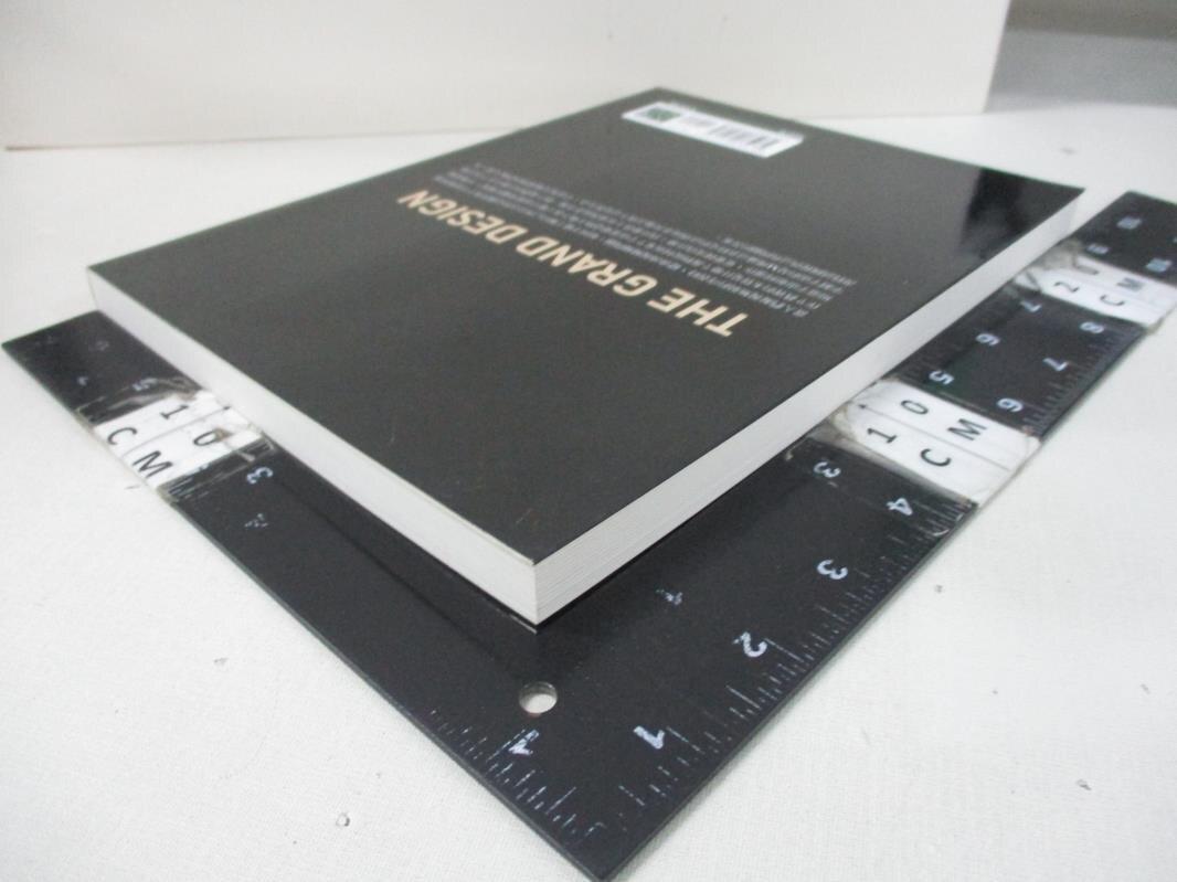 【書寶二手書T4/科學_EF2】大設計_史蒂芬.霍金