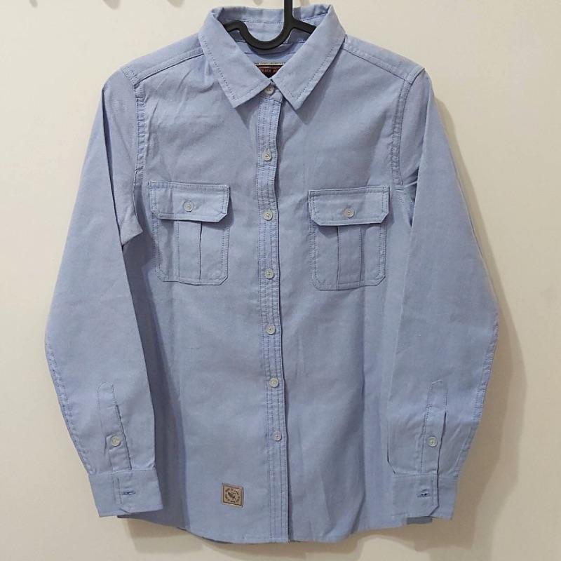 全新 CACO 長袖 襯衫 S號 160cm