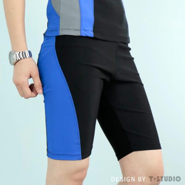 【T-STUDIO】拉繩泳褲/中性撞色