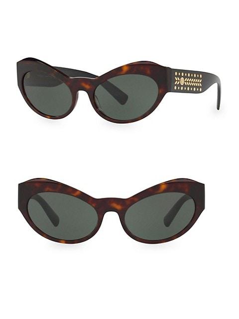 0VE4356 54MM Cat Eye Sunglasses
