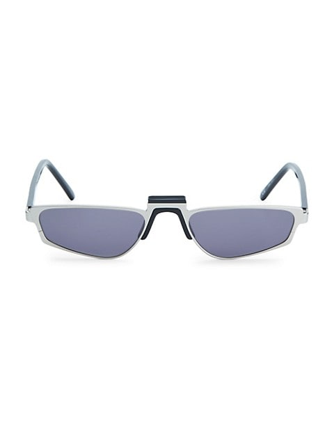 Ojala Thin Rectangular Sunglasses