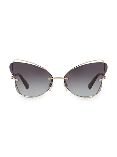 Allure 64MM Butterfly Sunglasses