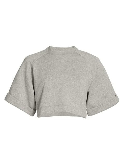 Aura Cropped Sweatshirt