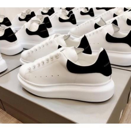 全新Alexander McQueen 麥坤鞋 黑尾小白鞋 休閒鞋 運動鞋 增高鞋 厚底鞋 情侶鞋 McQ