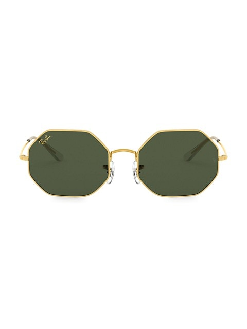 RB1972 54MM Octagonal Metal Sunglasses