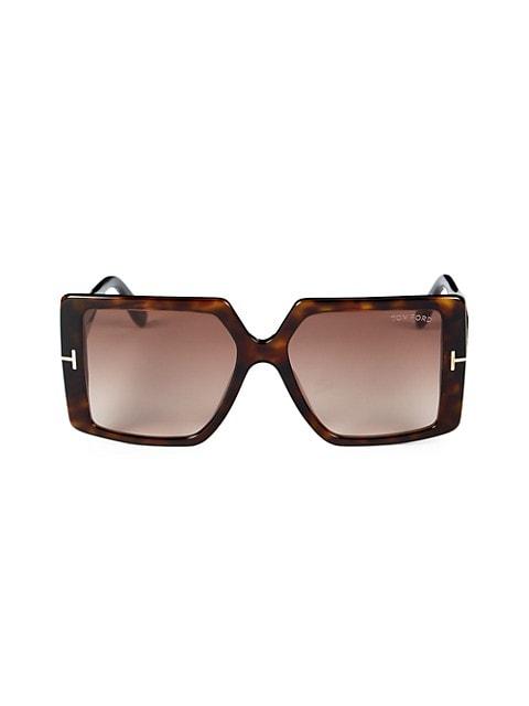 Quinn 57MM Square Sunglasses