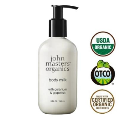 John masters organics 天竺葵葡萄柚潤膚乳 236ml - 新包裝