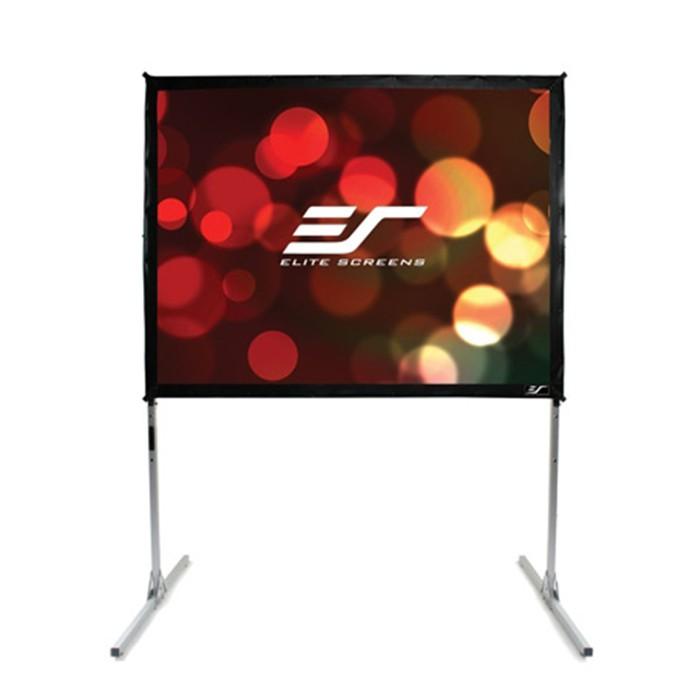 Elite Screens 億立 Q150H1 150吋 16:9快速摺疊幕 劇院雪白布 公司貨享保固《名展影音》