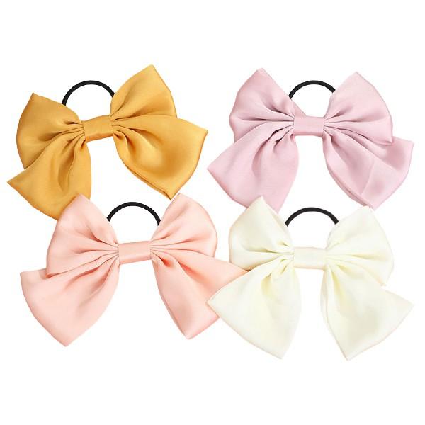 8515 優質蝴蝶結髮束 韓風髮圈日系髮飾 氣質彈性髮束嚴選優質髮帶