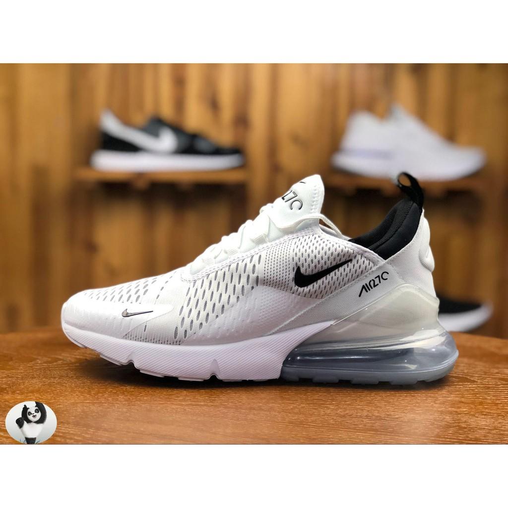 日本代購 Nike Air Max 270 白色 白黑 冰底 網面 透氣 後氣墊 慢跑鞋 情侶鞋 AH8050-100