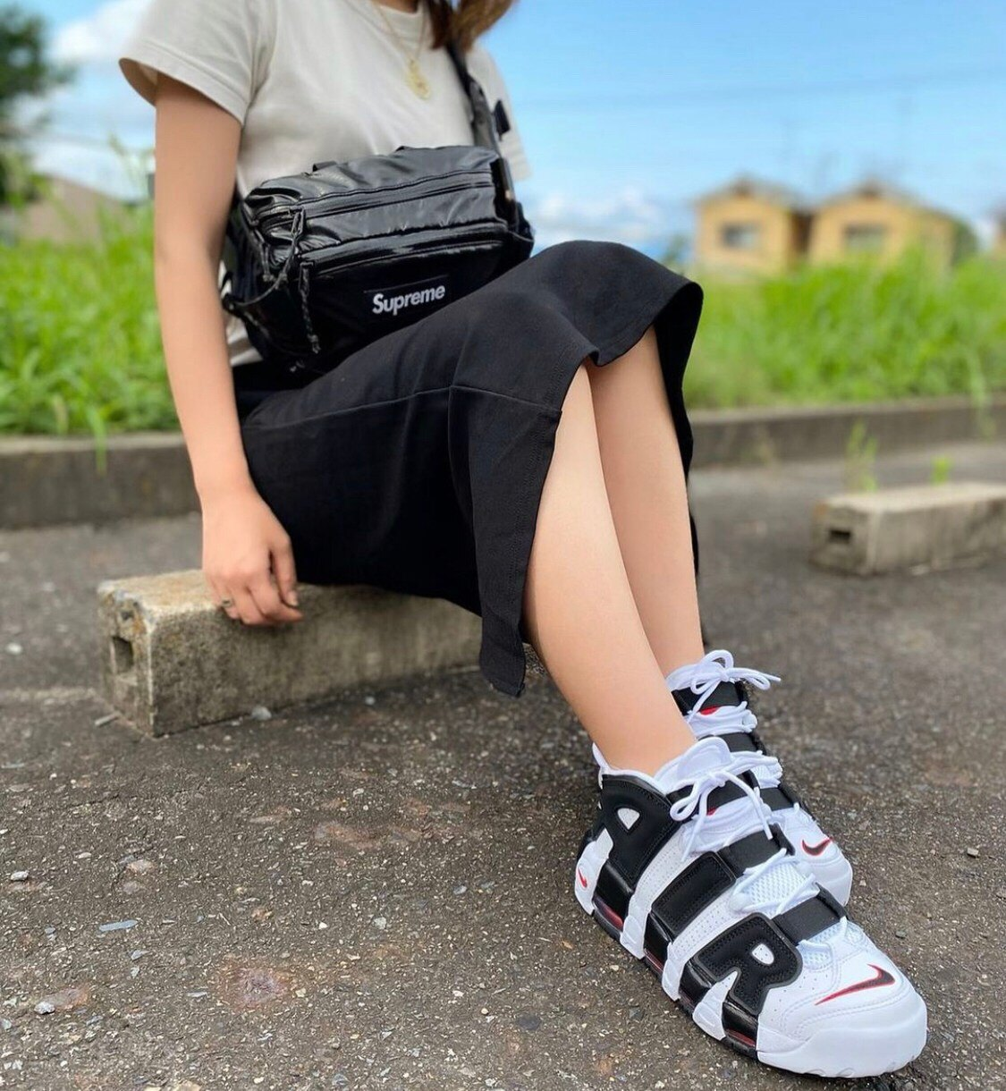 KUMO SHOES-Nike Air More Uptempo白黑 熊貓男女鞋