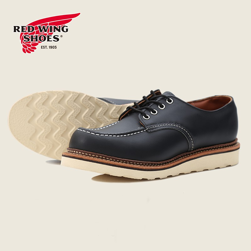 Red Wing Heritage Work Oxford Moc Toe 8106 美式經典男款皮革低筒工裝靴