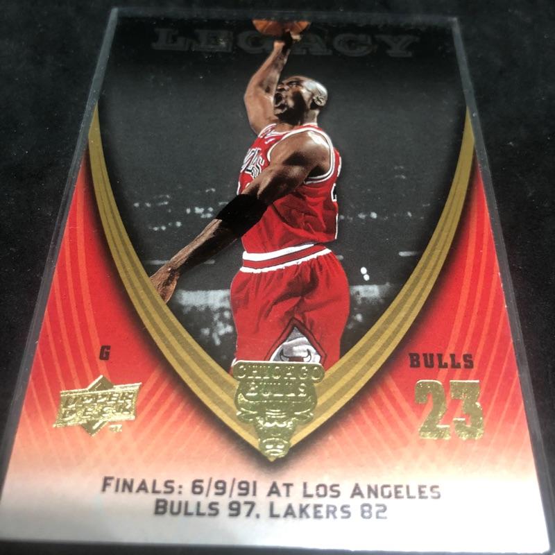 籃球之神 喬丹 MICHAEL JORDAN 20年前經典球卡一張
