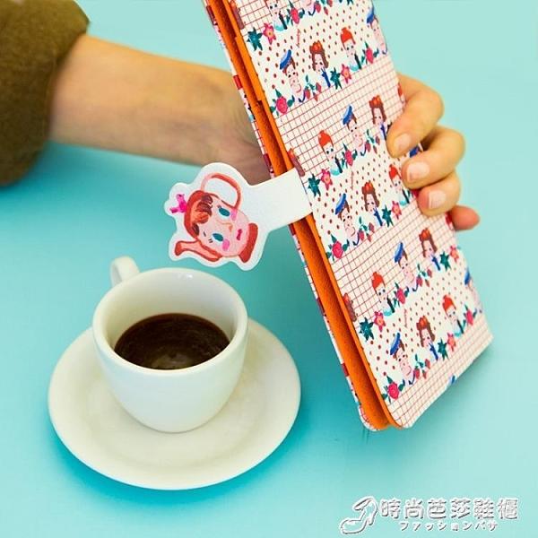證件包 韓版卡通可愛長款護照夾機票夾多功能證件保護套旅行護照本