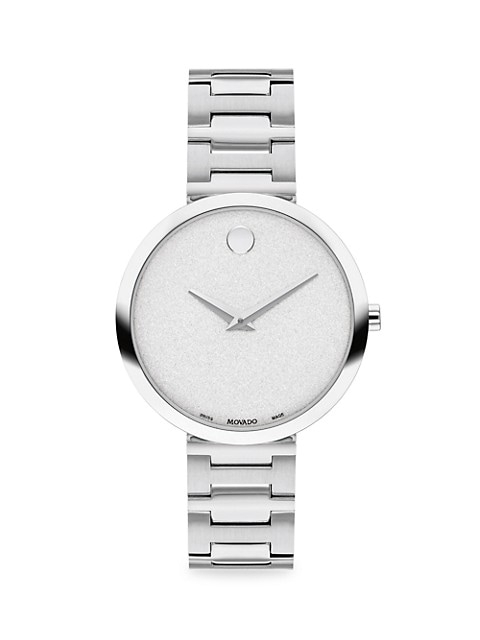 Museum Classic Stainless Steel Bracelet Watch