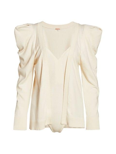 Inca Knit Bodysuit & Cardigan Set