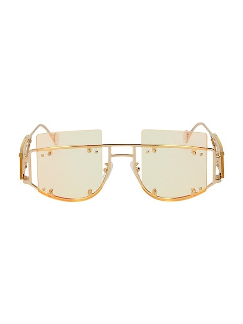 Antisocial 47MM Geometric Sunglasses