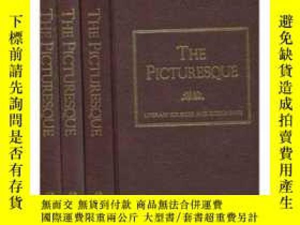 二手書博民逛書店The罕見Picturesque: Literary Sources And Documents (literar