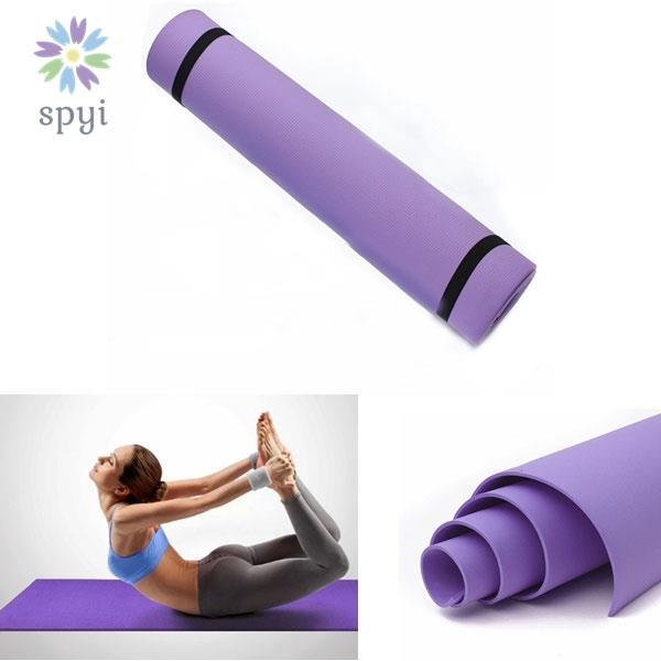 瑜伽墊減肥6毫米運動坪健身房瑜伽工具家用