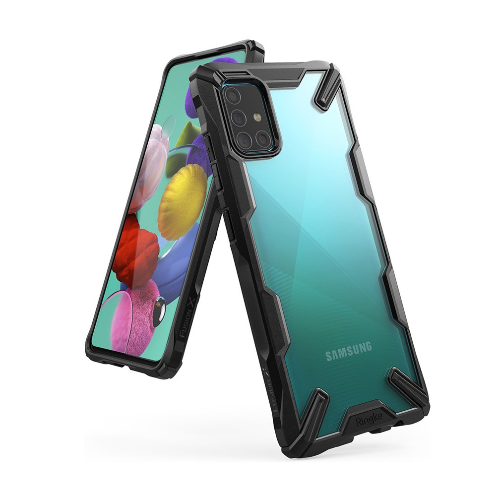 Rearth 三星 Galaxy A51 (Ringke Fusion X) 高質感保護殼 廠商直送 現貨