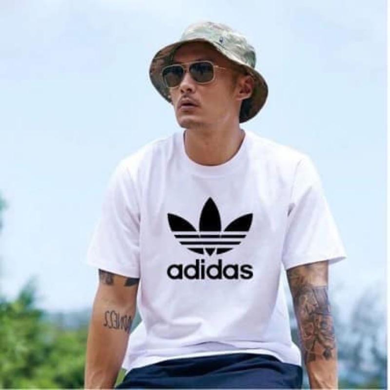 Adidas ORIGINALS 三葉草 經典Logo短T 基本款 余文樂