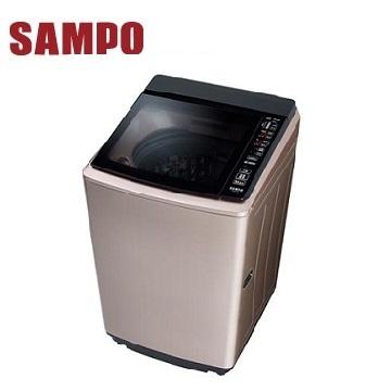(福利品)聲寶 16公斤單槽變頻洗衣機(ES-KD16P(R1)玫瑰金)