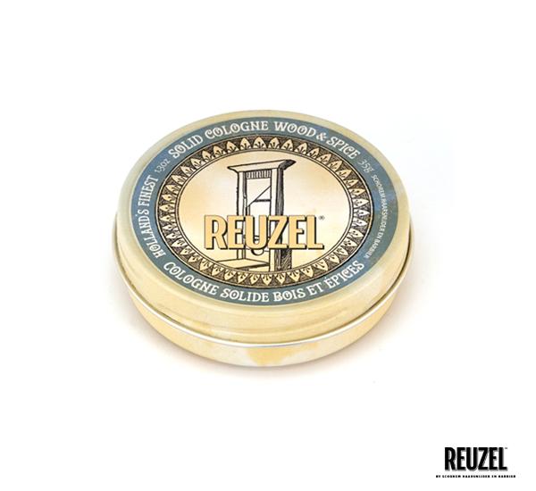 Reuzel WOOD & SPICE SOLID COLOGNE固態古龍水 (35g)