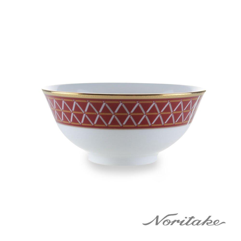 【Noritake】芎頂虹光金邊飯碗11.2cm