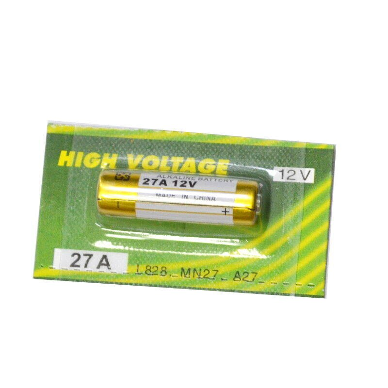 高容量鹼性電池27A 防盜器遙控器電池 汽機車遙控器電池L828【GU234】 123便利屋