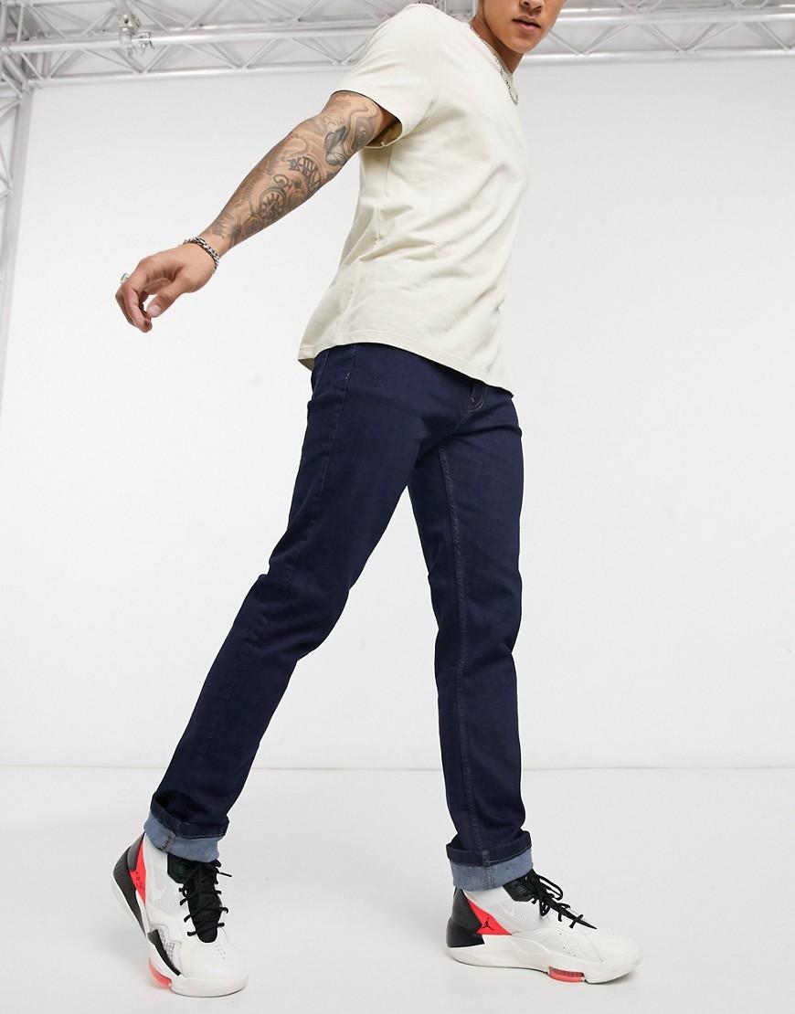 LDN DNM slim jeans in indigo wash-Blue