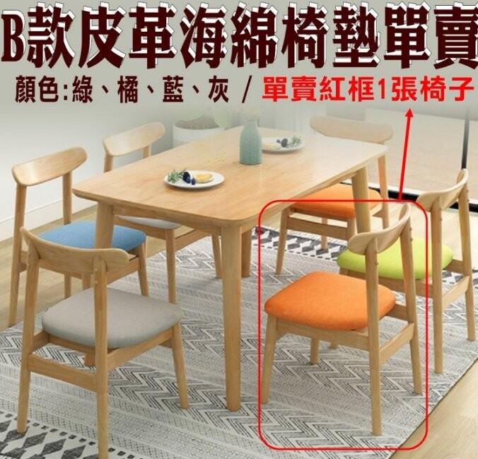 興雲網購原木色b款皮革椅單賣23080-237工作椅 針車椅 吧台椅 工作椅 餐椅 教師椅 辦公