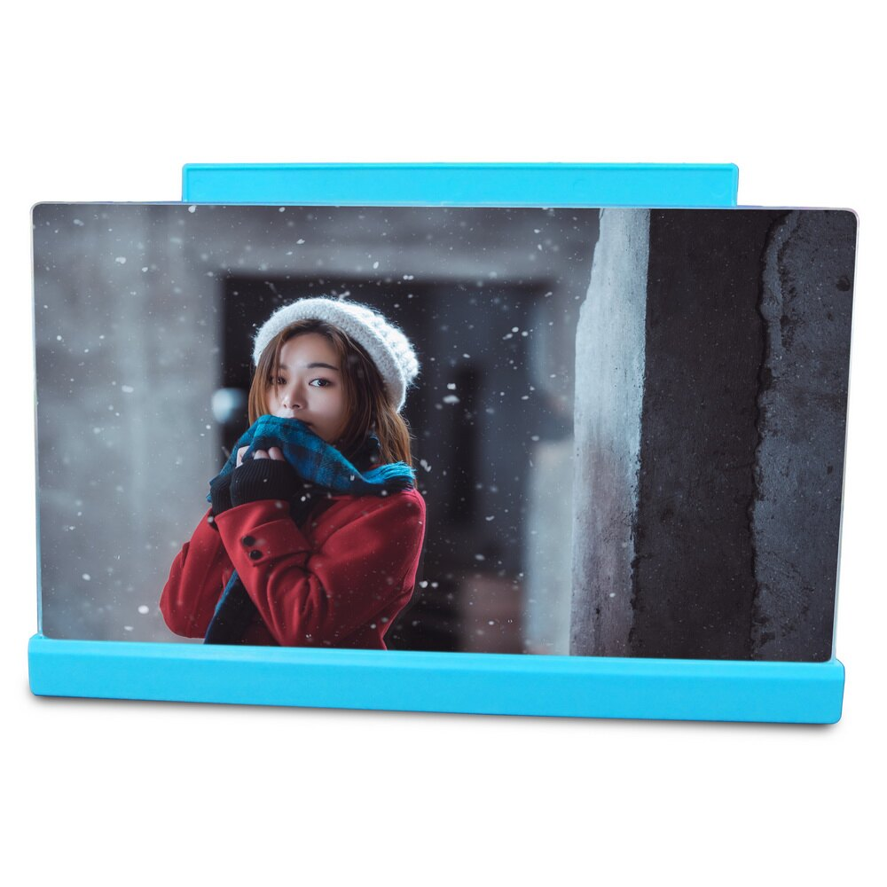 CM02手機螢幕放大器(藍)(中尺寸)