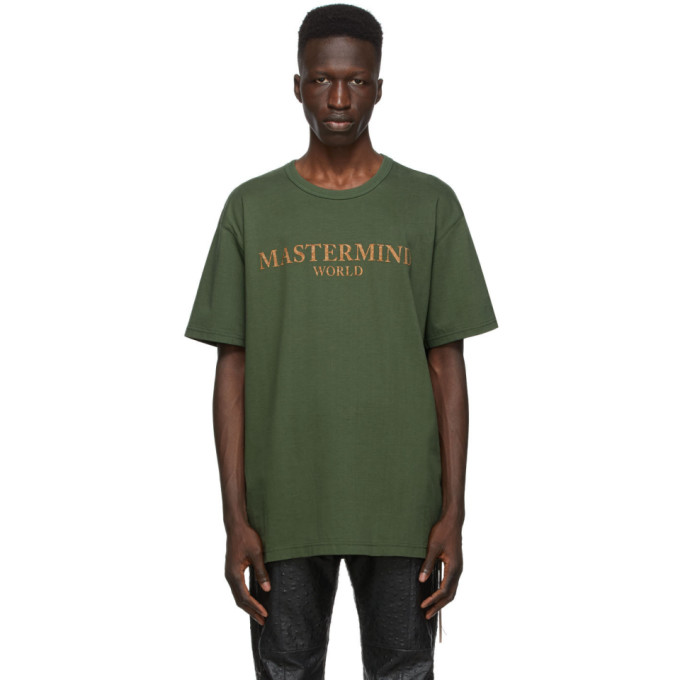 mastermind WORLD 绿色 Cork T 恤