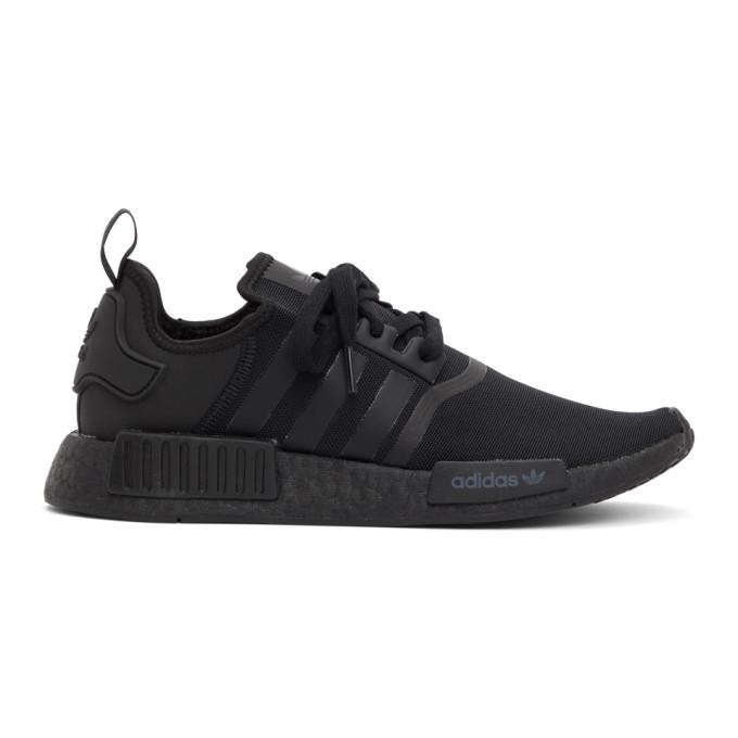 adidas Originals 黑色 NMD-R1 运动鞋