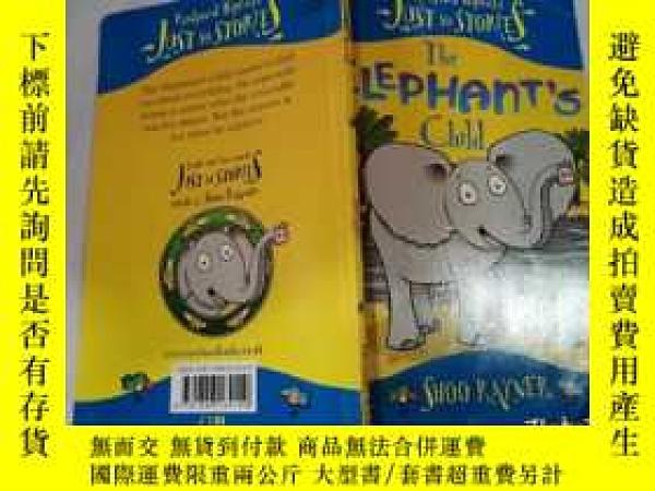 二手書博民逛書店the罕見elephant s:大象的Y212829 不祥 不祥