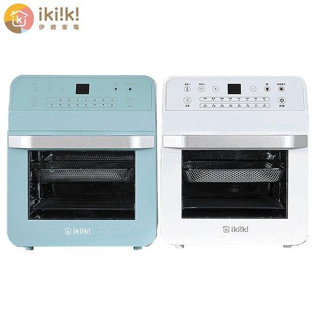 【iki!k!伊崎】家電 12L智能氣炸烤箱-IK-OT3201/IK-OT3202