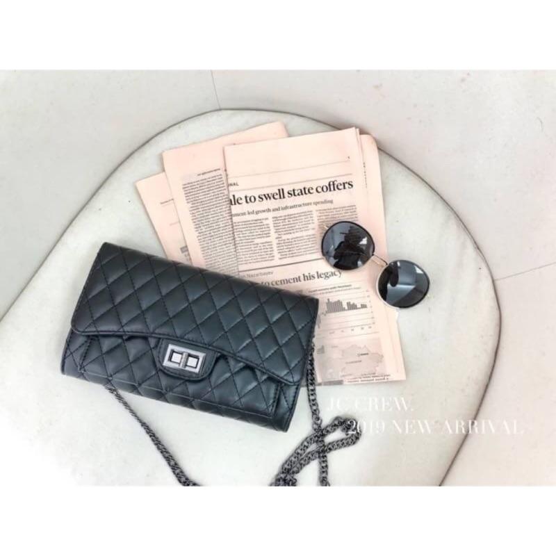 預購▪️銀鍊多層菱格包 質感小包韓國風質感提升
