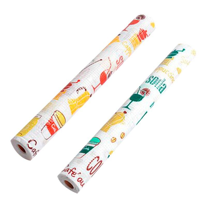 【媽媽咪呀】日本熱銷防潮抽屜櫥櫃墊-格紋款(45x300cm 二入)