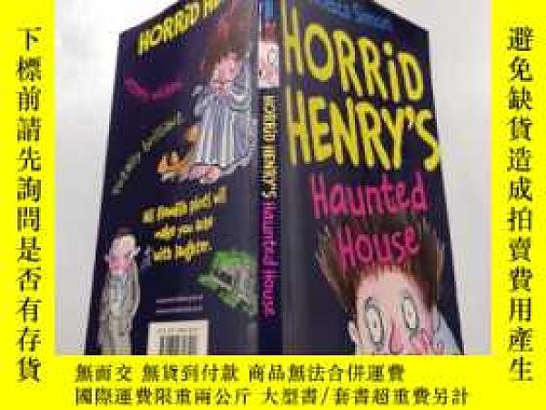 二手書博民逛書店horrid罕見henry s haunted house :可怕的亨利鬼屋Y212829