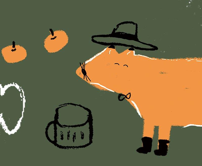 狐狸先生 / 紙膠帶