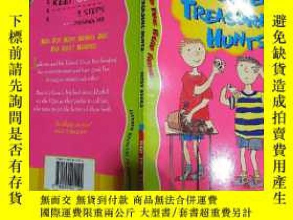 二手書博民逛書店THE罕見SEVEN TREASURE HUNTS:七寶尋寶Y200392