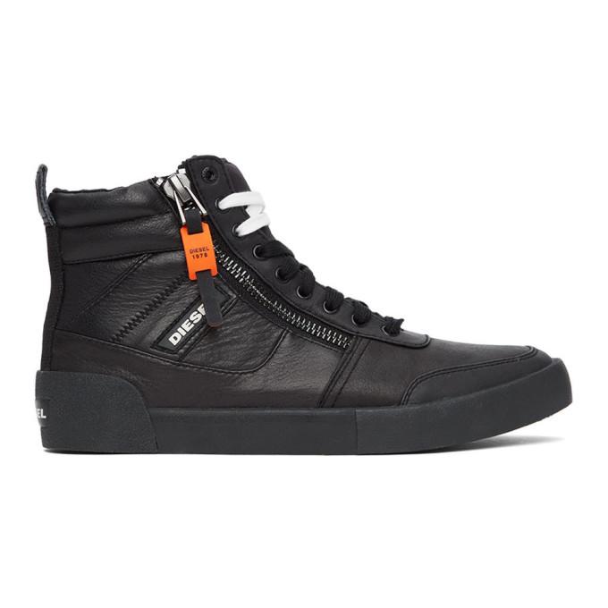 Diesel 黑色 S-Dvelows 高帮运动鞋