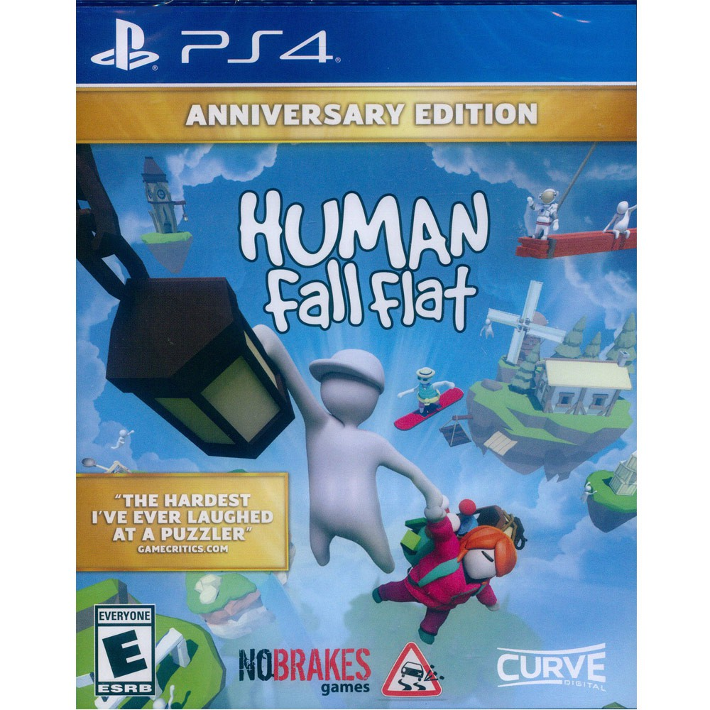 PS4 人類 : 跌落夢境 周年紀念版 中英文美版 Human: Fall Flat Anniversary (一起玩)
