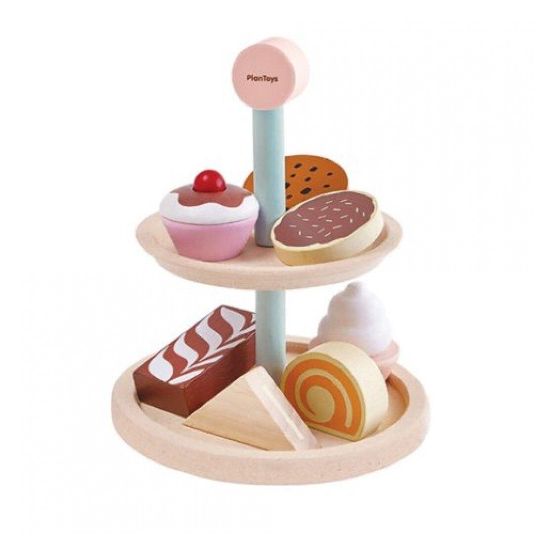 《  PLAN TOYS 》木製 小主廚 英式下午茶 東喬精品百貨